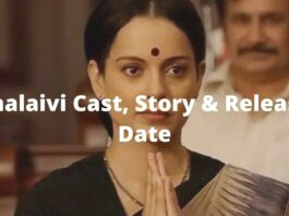 Thalaivi cast story and release date